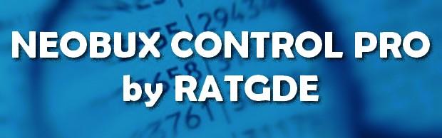 Neobux Control Pro Header