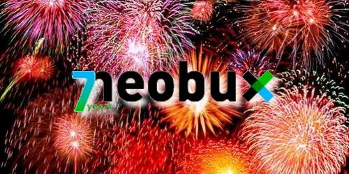 Neobux 7 años